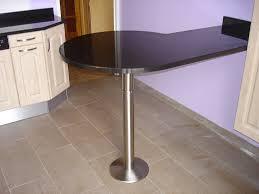 table bar de cuisine plan de travail lot cuisine bar quelle hauteur id ale table
