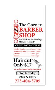 Door Hanger Design Ideas Salon U0026 Barber Door Hanger Samples
