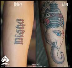 cover up with lord ganesha tattoo ace tattooz u0026 art studio