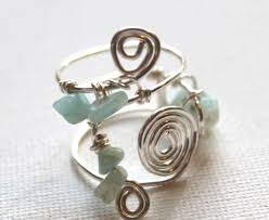 jewelry wire rings images Wire wrapped beaded ring emerging creatively jewelry tutorials jpg