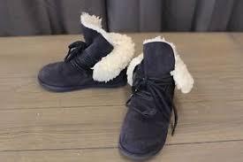 emu australia s boots emu australia paxton boots size 4 navy 809996699102 ebay