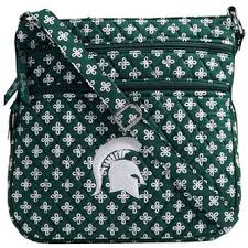 michigan state spartans purses handbags clutches official