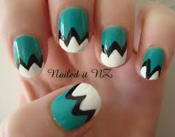 12 easy designs for nails step by step easy christmas nail art