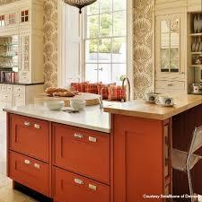Orange Kitchen Cabinets Best 25 Orange Kitchen Wallpaper Ideas On Pinterest Retro