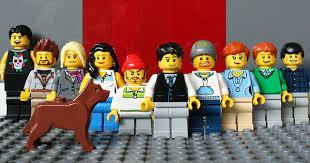 lego office office space made from lego bricks at yard digital in edinburgh