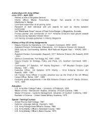 Infantryman Resume W David Resume Jul 15