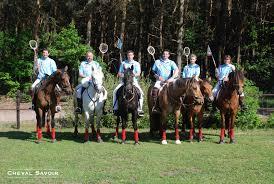 L\u0026#39;équipe était aussi composée de Rémi Bader, Johanne Szezesny, François Mézières et Gérard Van Houcke qui ont tous brillamment représenté leur pays, ... - polocrosse-1