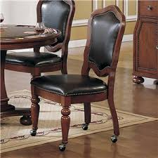 Dining Chair With Casters Delaware Maryland Virginia Delmarva - Dining room chairs with rollers