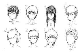 boy pubic hair styles simple hairstyle for male anime hairstyles malehairstyles deviantart