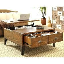 cherry lift top coffee table sauder carson forge cherry lift top coffee table for living room