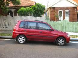 mitsubishi mazda aussie old parked cars 2001 mazda 121 metro platinum edition