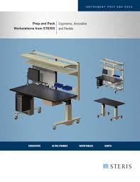 prep and pack workstations from steris steris pdf catalogue