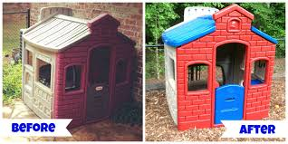 everyday blessings little tikes play house makeover for the