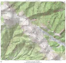 Topography Map Forest Service Topographic Map For Ben Tyler Trail