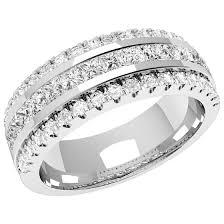 verighete cu diamant verigheta cu diamant inel eternity dama aur alb 18kt cu 15