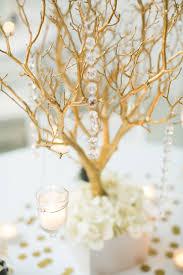 manzanita centerpieces gold manzanita branch centerpieces branch centerpieces