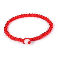 string cord bracelet images Best price simple style classic lucky chinese braided red string jpg