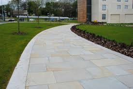 natural sandstone flag paving charcon