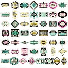 southwestern designs southwest fonts cartridges images