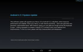 android keyboard update dowmload nexus 10 also getting android 4 2 2 update jdq39 gadgetian