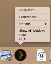 opening plex web app u2013 plex