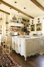 Antiqued Kitchen Cabinets by Furniture Splendid White Habersham Kitchen Design Ideas With