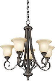 kichler lighting catalogue kichler 43156oz five light chandelier amazon com