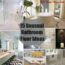 unique bathroom flooring ideas interesting unique bathroom floor ideas with bathroom flooring