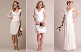 brautkleid f r schwangere brautkleider standesamt für schwangere