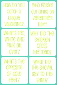 valentine u0027s day printable jokes for kids the gunny sack