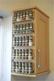 Kitchen Cabinet Door Spice Rack Cabinet Door Spice Storage Kitchen Door Spice Rack Door Mount
