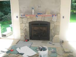 best stone around fireplace on interior with tile around this