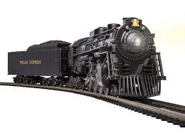the polar express berkshire ho scale locomotive and tender with