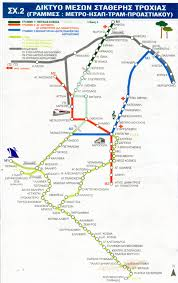 Map Greece by Athens Greece Train Rail Maps