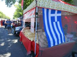 Vancouver Flag Greek Day In Vancouver Brings Tens Of Thousands To West Broadway