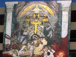 latino heritage in los angeles murals discover los angeles across the street from the medical center is tikkun olam to repair the world by george yepes the 1997 mural rises 36 feet on the side of a parking lot