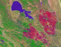 Wildfire Haze Map by How We Used Satellite Data To Track California Wildfires Reveal