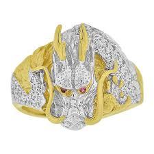 dragon rings gold images 14kt gold gent fancy ring dragon r501 010 givemegold jpg