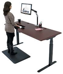 Desk Extender For Standing Omega Everest Stand Up Desk With Built In Steadytype Keyboard Tray