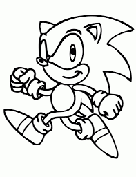 the awesome sonic printable coloring pages intended to motivate to