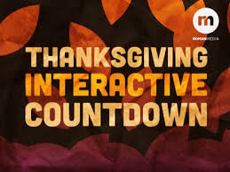 thanksgiving interactive countdown creative sheep worshiphouse