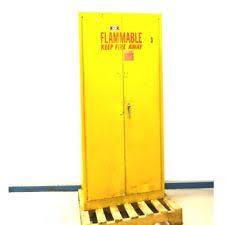 Yellow Storage Cabinet Safety Storage Cabinet Ebay