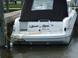 Boat Names by Compass Design Boat Lettering