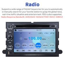 98 Mustang Radio Fuse Stereo Gps Navigation Bluetooth For 2005 2009 Ford Mustang Fusion