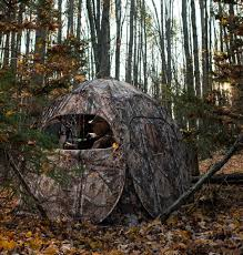 Natural Hunting Blinds Top Five Ground Blind Goodies Western Whitetail