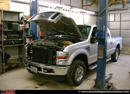 Ford Diesel Light Truck - can communication failure causes theft intermittent no start