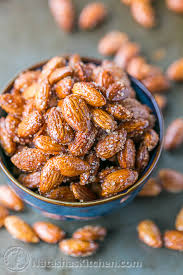 my hubby used up a whole bag of almonds from costco making these