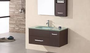 Small Wall Mounted Sinks For Bathrooms Christine 35 U2033 Single Sink U2013 Wall Mount Vanity Set In Espresso