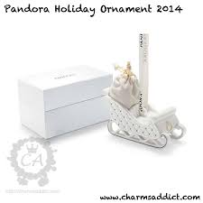 pandora 2014 holiday ornament promotion charms addict