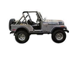 new jeep renegade black amazon com 1979 1980 jeep renegade cj5 cj7 decals u0026 stripes kit